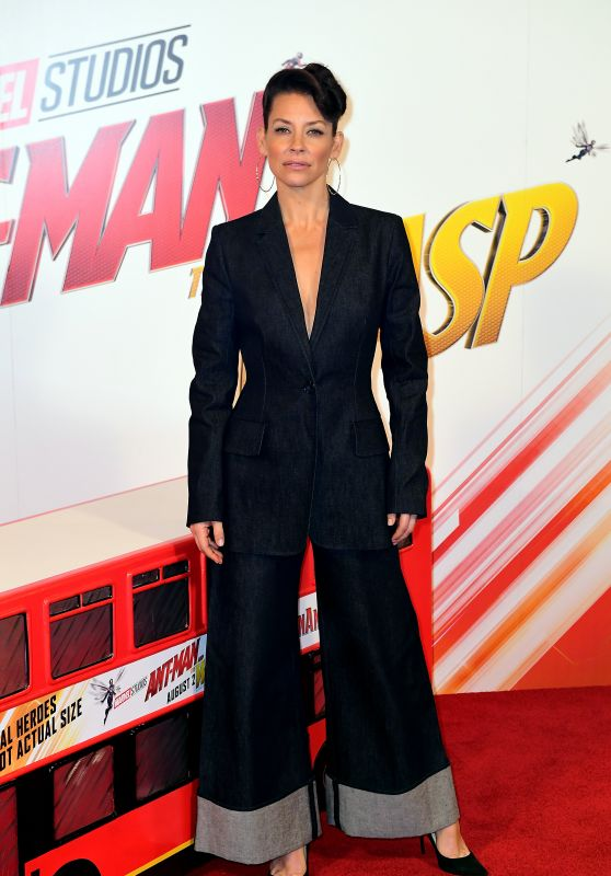 "Evangeline Lilly - ""Ant-Man and the Wasp"" Photocall in London"