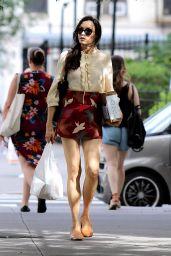 Famke Janssen - Out in NYC 07/24/2018