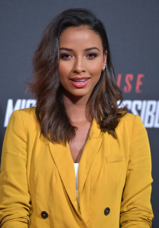 "Flora Coquerel - ""Mission Impossible - Fallout"" Premiere in Paris"
