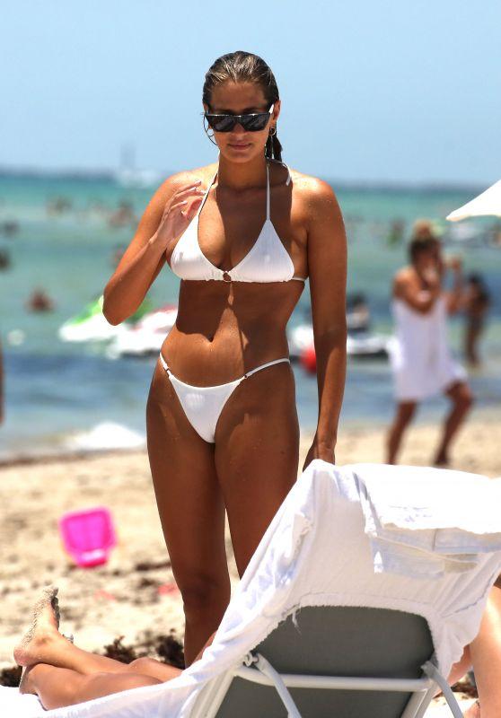 Francesca Aiello in Bikini - Miami Beach 07/13/2018