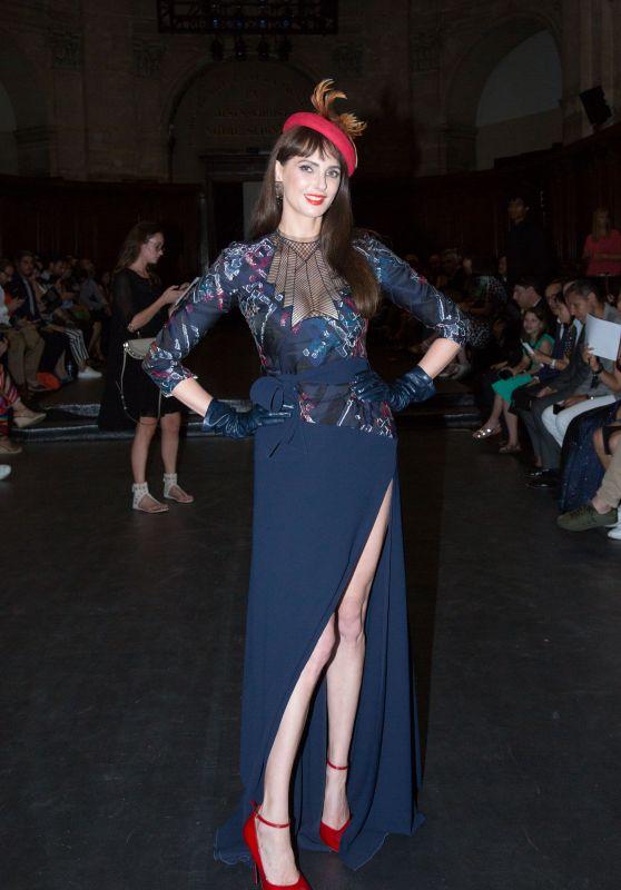 Frederique Bel - The Julien Fournie Haute Fashion Show in Paris 07/04/2018