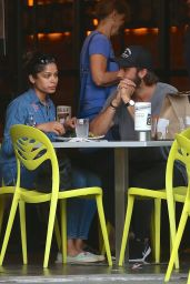 Freida Pinto and Her New Boyfriend Out in LA 07/29/2018