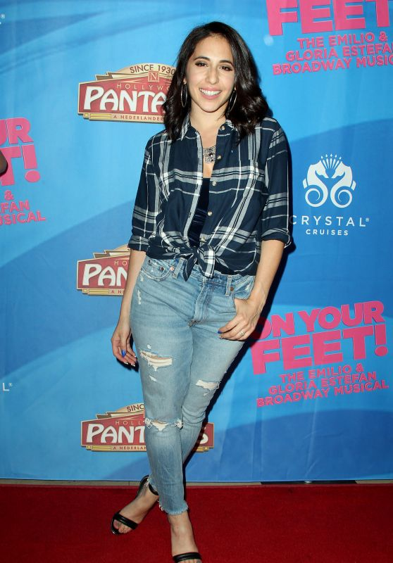"Gabrielle Ruiz – ""On Your Feet The Story of Emilio & Gloria Estefan"" Premiere in Hollywood"