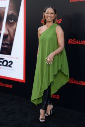 """Garcelle Beauvais – """"The Equalizer 2"""" Premiere in Los Angeles"""