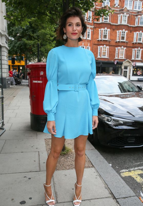 Gemma Arterton at BBC Radio Two Studios in London 07/20/2018
