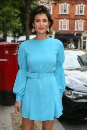 Gemma Arterton at BBC Radio Two Studios in London 07/20/2018