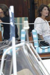 Gemma Arterton in Portofino 07/28/2018
