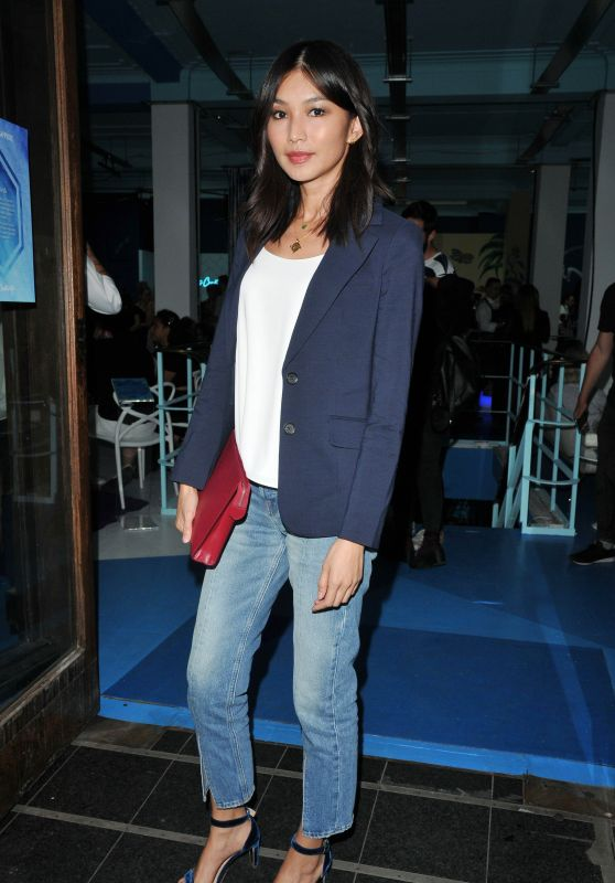 Gemma Chan - Canvas by Bombay Sapphire Party in London