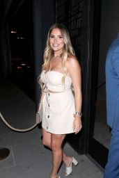 Georgia Kousoulou Night Out Style – ITV Summer Party in London
