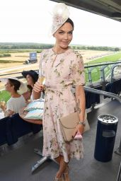 Georgia May Foote, Kirsty Gallacher and Victoria Pendleton - King George Weekend at Ascot Racecourse in England 07/28/2018