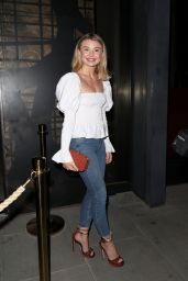 Georgia Toffolo Night Out Style - ITV Summer Party at Nobu in London