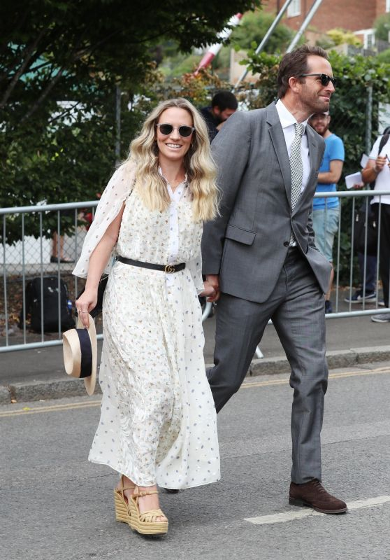 Georgie Thompson - 2018 Wimbledon Tennis Championships in London