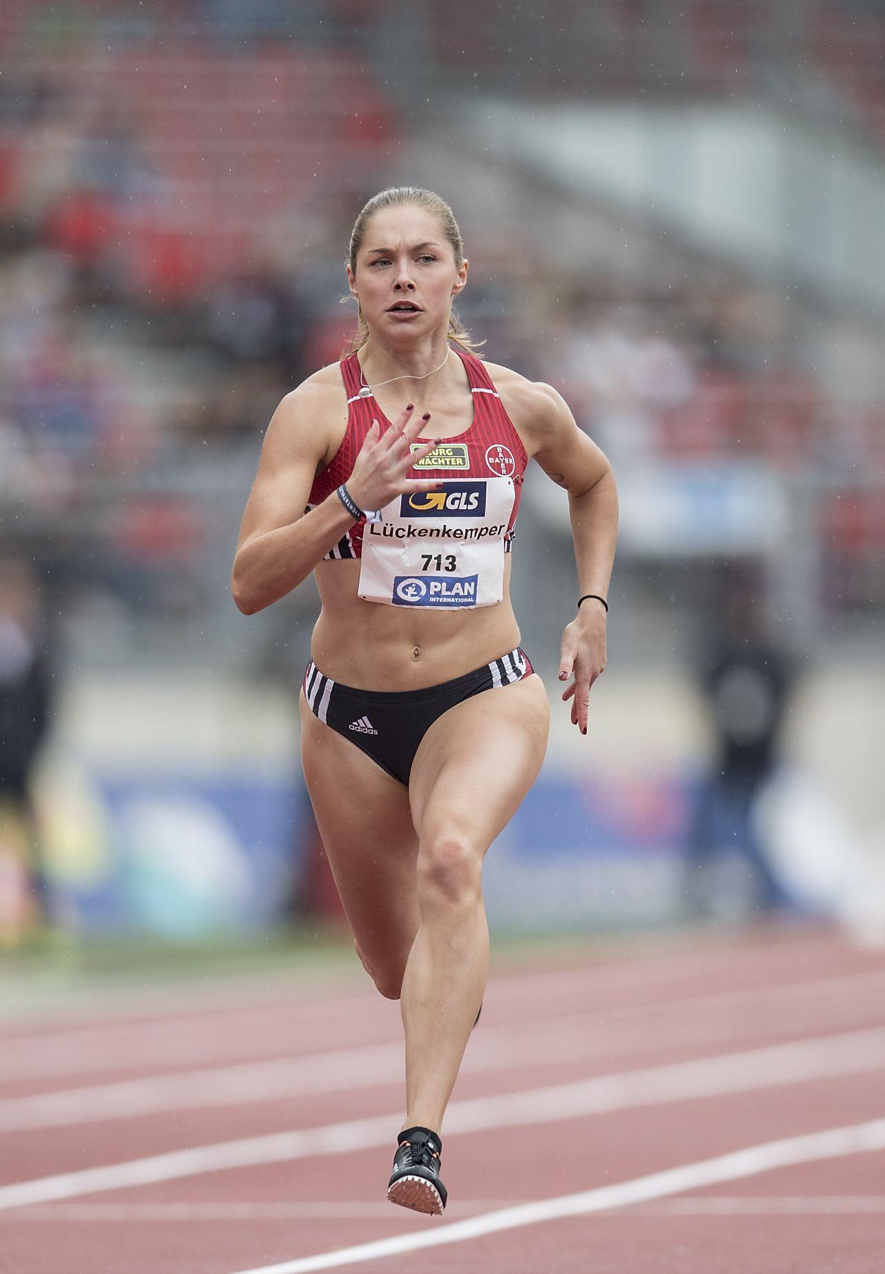 Gina Lückenkemper - German Athletics Championships 2018