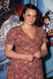 "Gizzi Erskine – ""Hotel Transylvania 3"" Gala Screening in London"