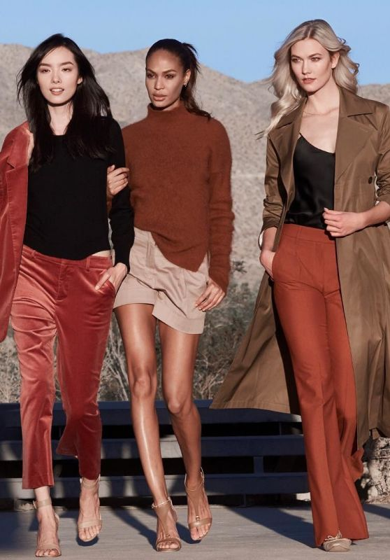 Grace Elizabeth, Karlie Kloss, Joan Smalls and Fei Fei Sun - Estée Lauder