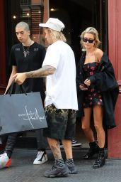 Hailey Baldwin and Justin Bieber Out in NYC 07/27/2018