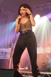 Heather Baron-Gracie - Performs at Standon Calling at Standon, Hertfordshire 07/28/2018