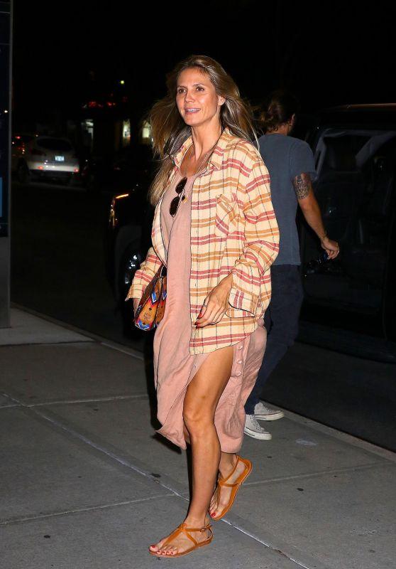 Heidi Klum and Boyfriend Tom Kaulitz  Out in NYC 07/06/2018