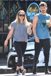 Hilary Duff and Boyfriend Matthew Koma - Out in Los Angeles 07/23/2018