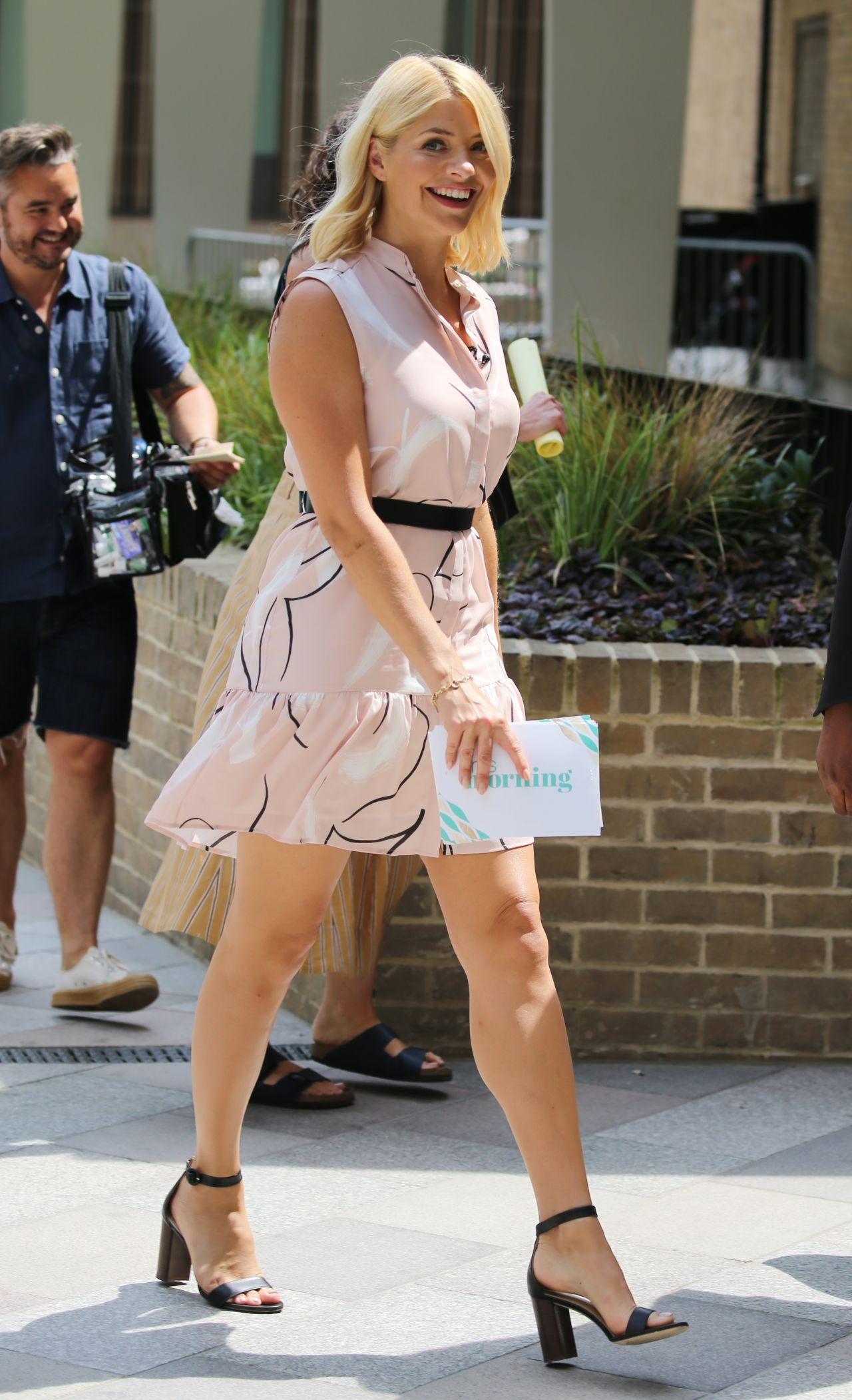 Holly Willoughby - Filming Outside Itv Studios In London-7662