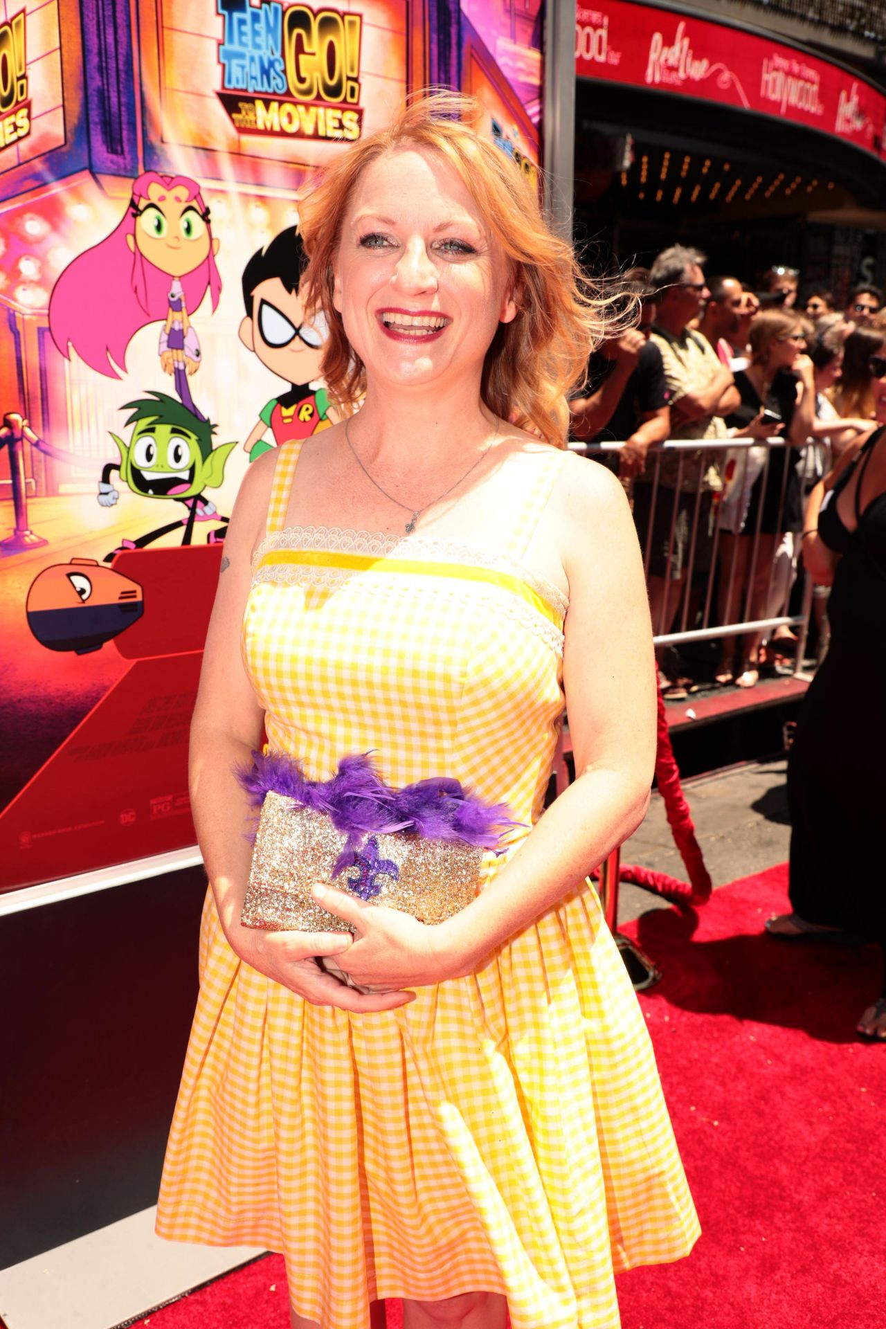 Hynden Walch  Teen Titans Go To The Movies Premiere In -2816