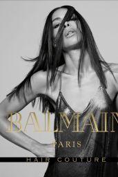 Ines Rau - Balmain Campaign
