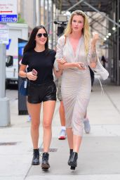 Ireland and Alaia Baldwin - Out in NYC 07/26/2018