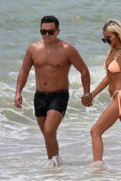 Isabelle Warburton in Bikini - Having Fun With Her Boyfriend in Portugal 07/06/2018