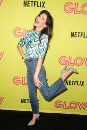 "Jackie Tohn – ""Glow"" Roller Skating Event in LA"