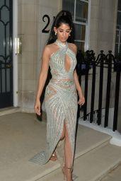"Jasmin Walia - Heading To ""Mamma Mia! Here We Go Again"" Premiere in London"