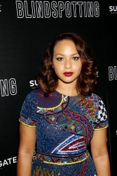 "Jasmine Cephas Jones – ""Blindspotting"" Premiere in New York"