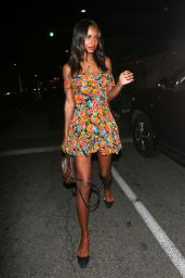 Jasmine Tookes Night Out Style - Avra in Beverly Hills