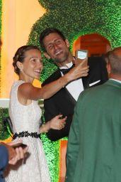 Jelena Djokovic and Novak Djokovic - Wimbledon 2018 Champions Dinner in London