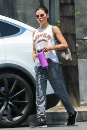 Jenna Dewan - Leaving the Gym in Los Angels 07/26/2018