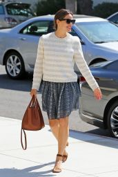 Jennifer Garner - Arriving for Sunday Church Services in Pacific Palisades 07/29/2018