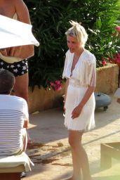 Jennifer Knable and Felix Moese After Their Wedding in Mallorca, July 2018