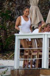 Jennifer Lopez - Out in Nassau 07/27/2018