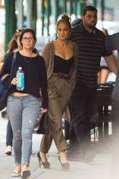 Jennifer Lopez - Out in New York City 07/22/2018