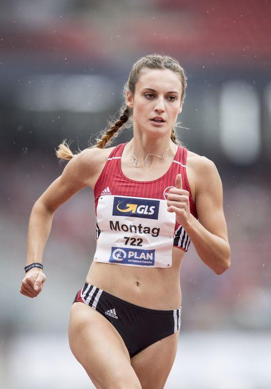"""Jennifer Montag - """"German Athletics Championships 2018 in Nürnberg"""
