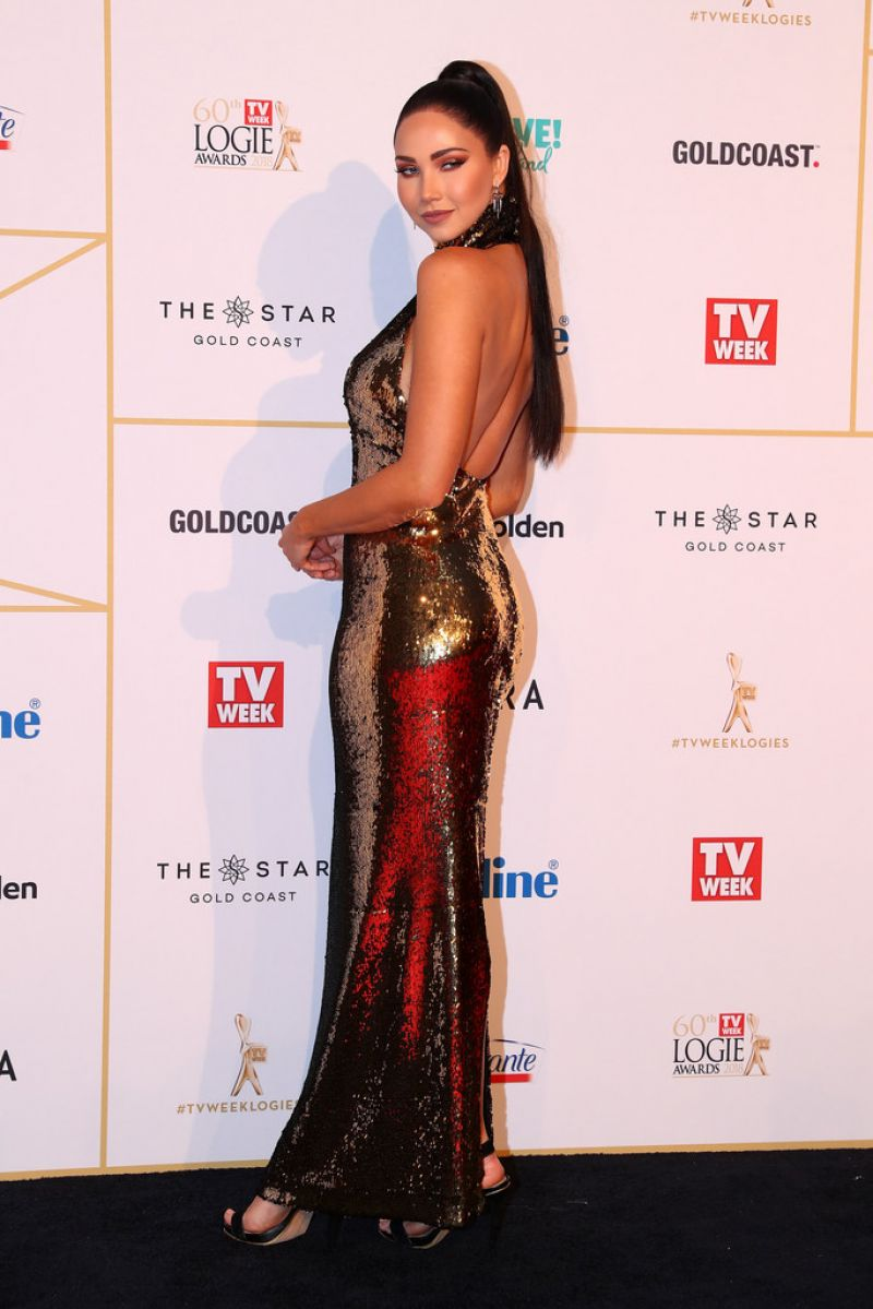 Jessica Green 2018 Logie Awards In Gold Coast