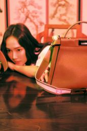 "Jessica Jung and Krystal Jung - FENDI ""My Peekaboo"" Campaign 2018"