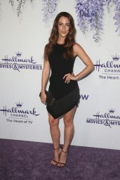 Jessica Lowndes – Hallmark Channel Summer TCA 2018 in Beverly Hills