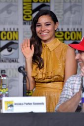 "Jessica Parker Kennedy – ""The Flash"" Panel at SDCC 2018"