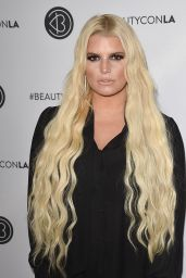 Jessica Simpson – Beautycon Festival in Los Angeles 07/14/2018