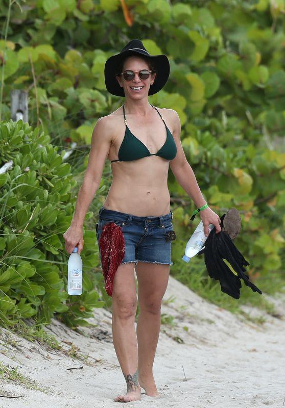 Jillian Michaels in Bikini at the Beach in Miami 07/05/2018