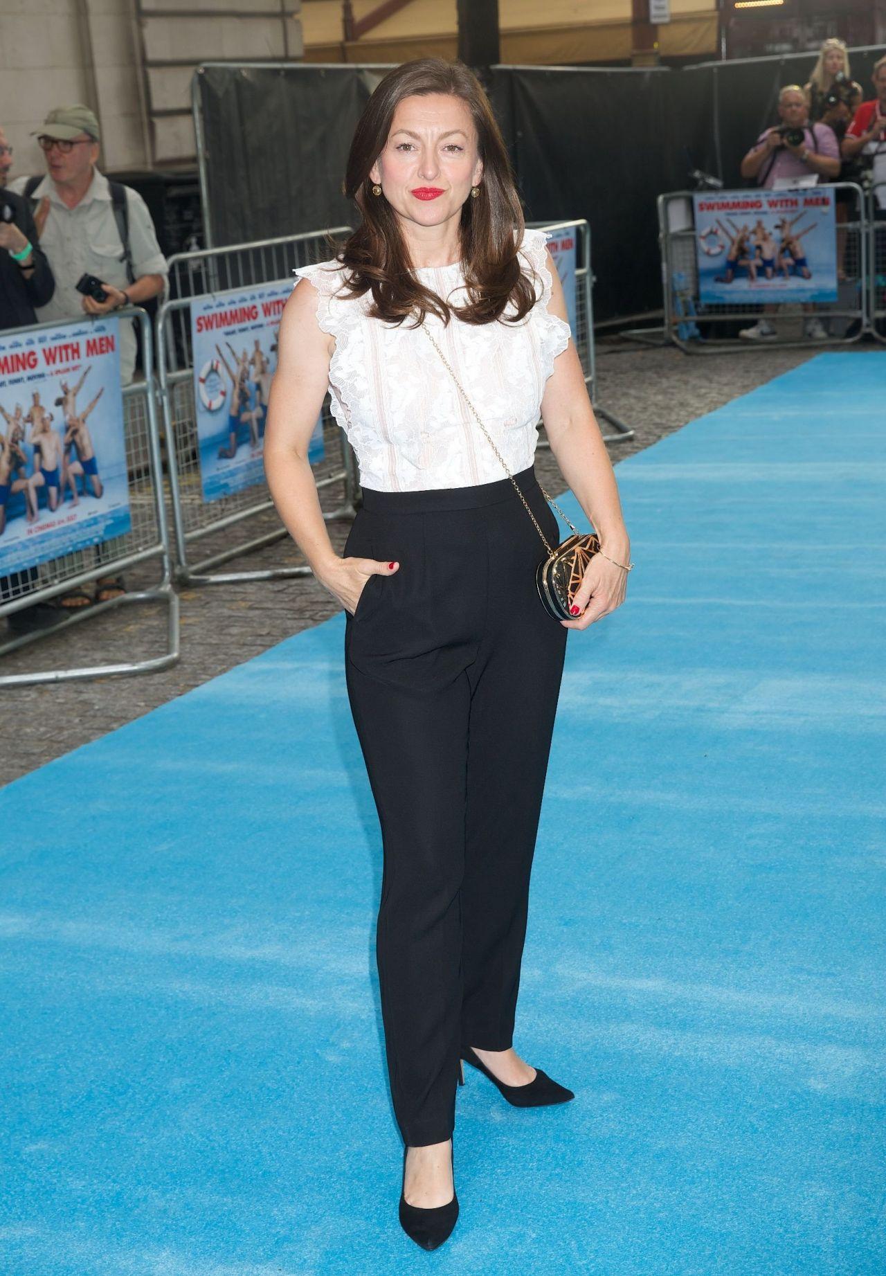 Jo Hartley - Swimming with Men Premiere in London