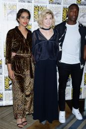 """Jodie Whittaker - """"Doctor Who"""" TV Show Photocall at 2018 Comic-Con International: San Diego"""