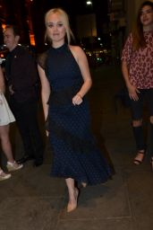 Jorgie Porter Leaving The Palace Theatre in Manchester 07/26/2018