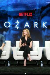 """Julia Garner - Netflix """"Ozark"""" TV Show Panel at 2018 TCA Summer Press Tour in LA"""