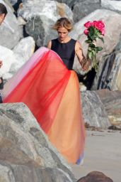 Julia Roberts - Photoshoot on the Beach in Malibu